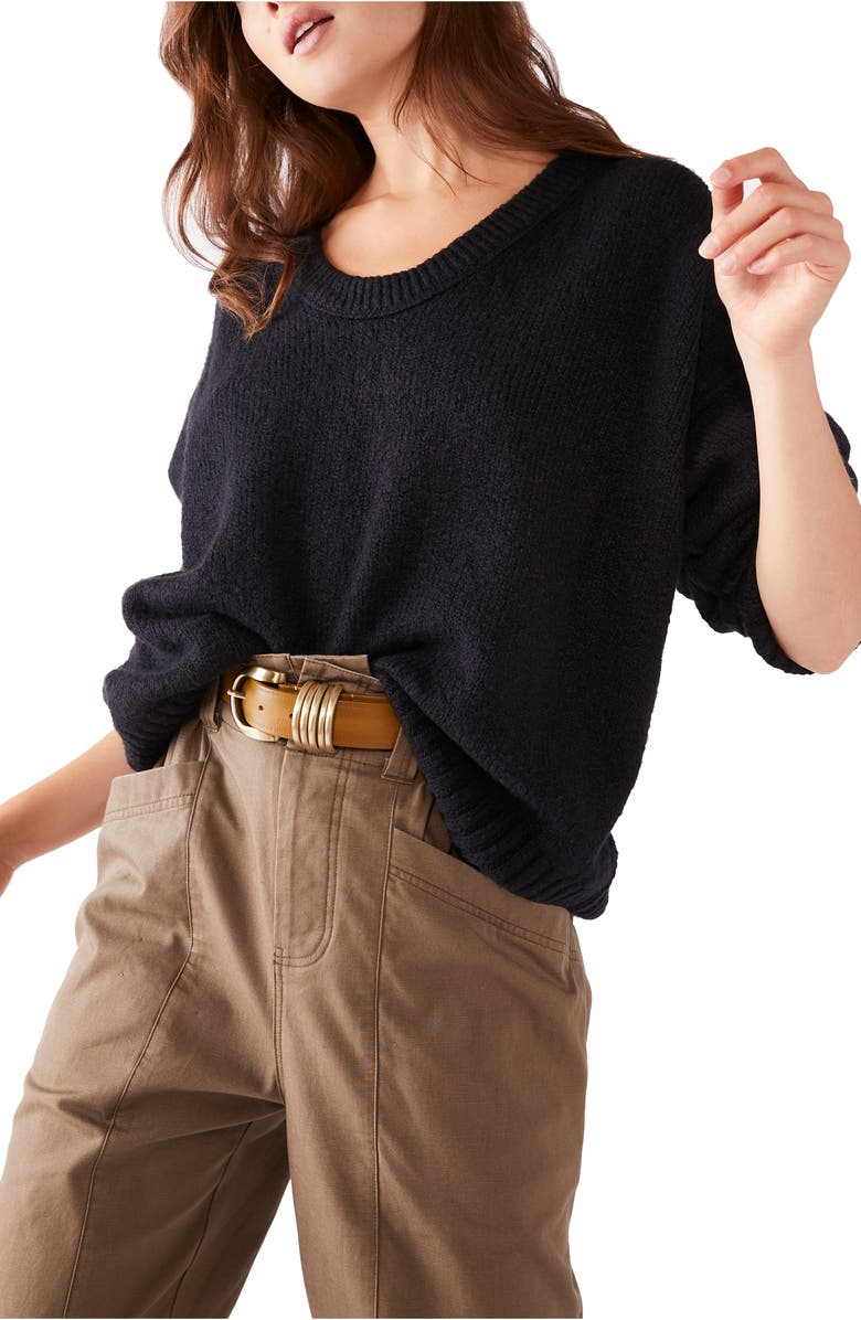 FREE PEOPLE Brookside Sweater, Main, color, 001