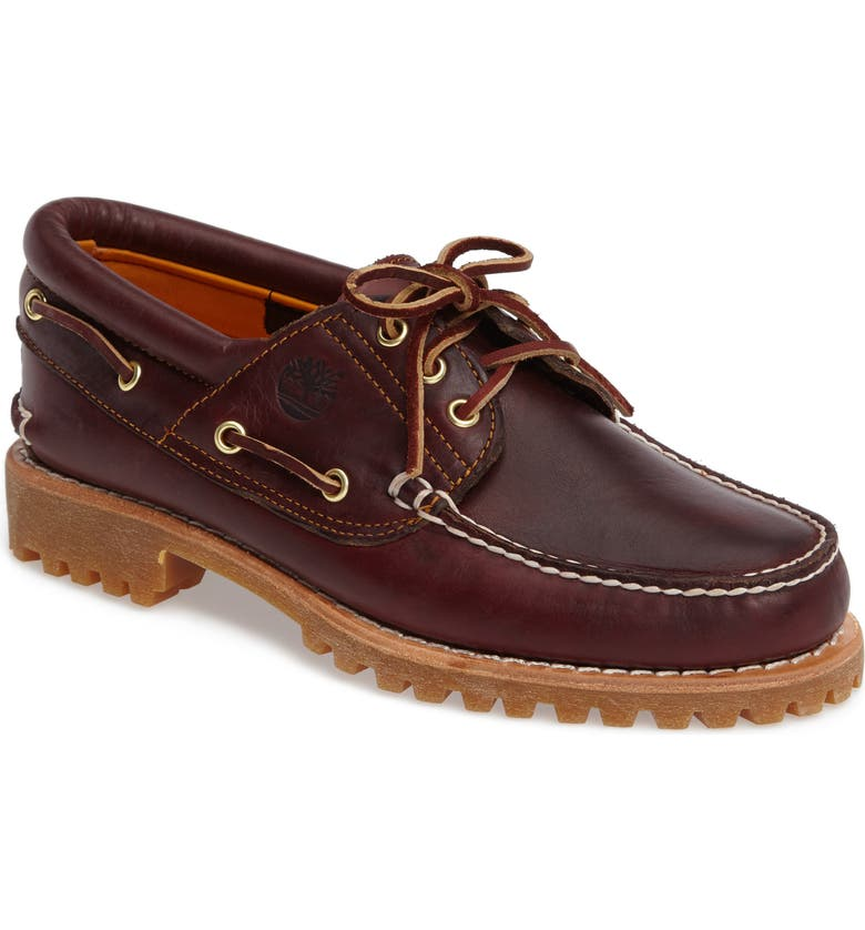 TIMBERLAND Authentic Boat Shoe, Main, color, 930