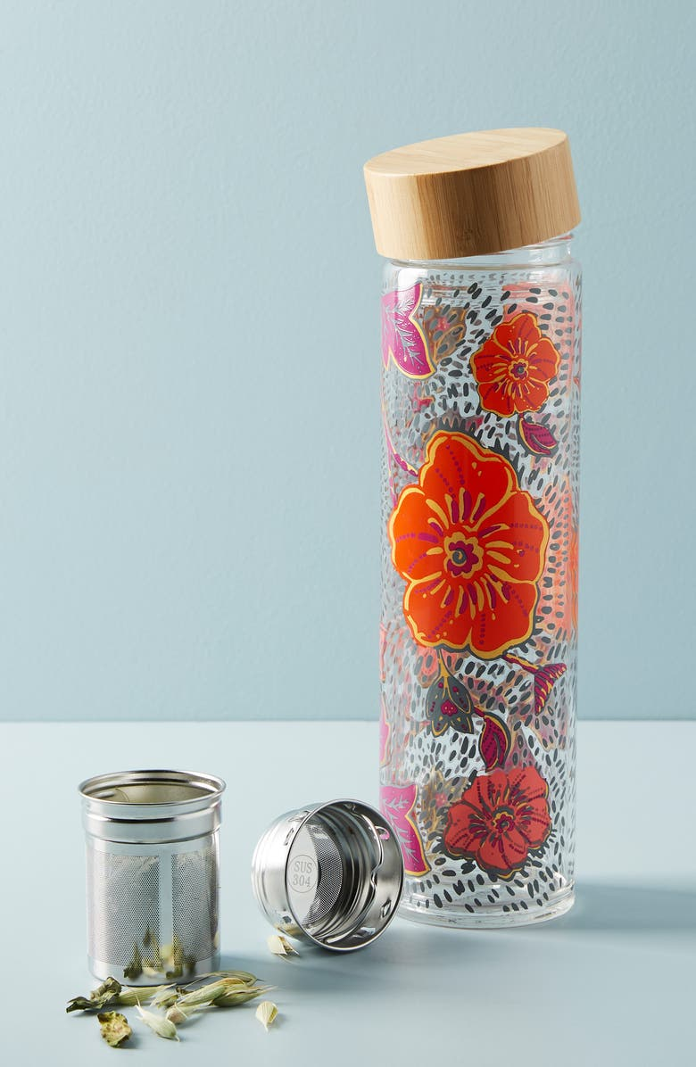 ANTHROPOLOGIE HOME Anthropologie Floral Tea Infuser, Main, color, 100