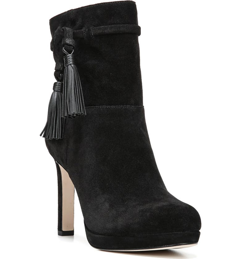 VIA SPIGA 'Bristol' Tassel Boot, Main, color, 001