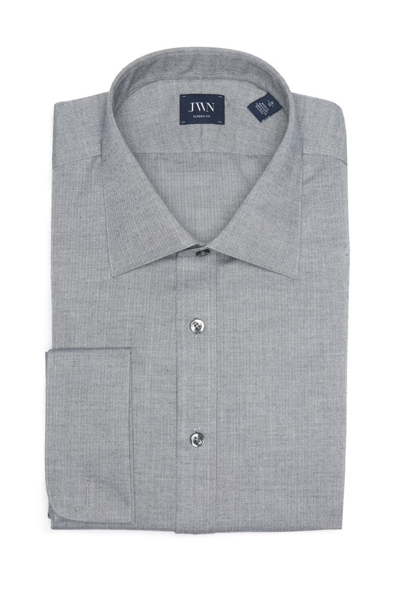JOHN W. NORDSTROM Solid Long Sleeve Classic Fit Shirt, Main, color, 0944-CLC