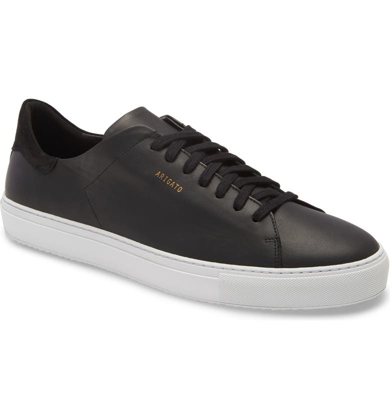 AXEL ARIGATO Clean 90 Sneaker, Main, color, BLACK LEATHER