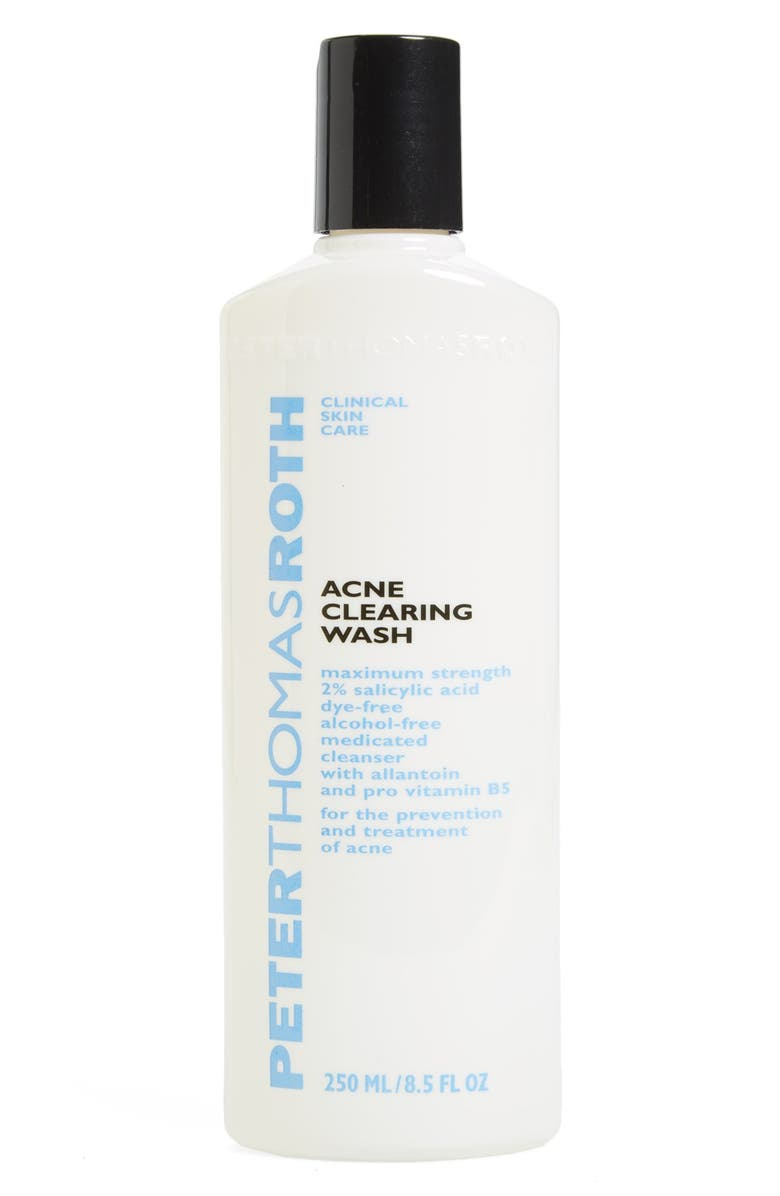 PETER THOMAS ROTH Acne Clearing Wash, Main, color, 000