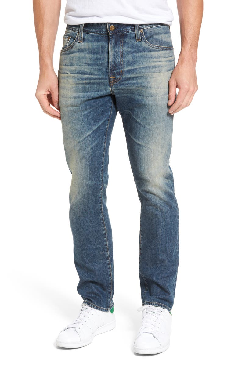 AG Everett Slim Straight Fit Jeans, Main, color, 18 YEARS CASHOUT