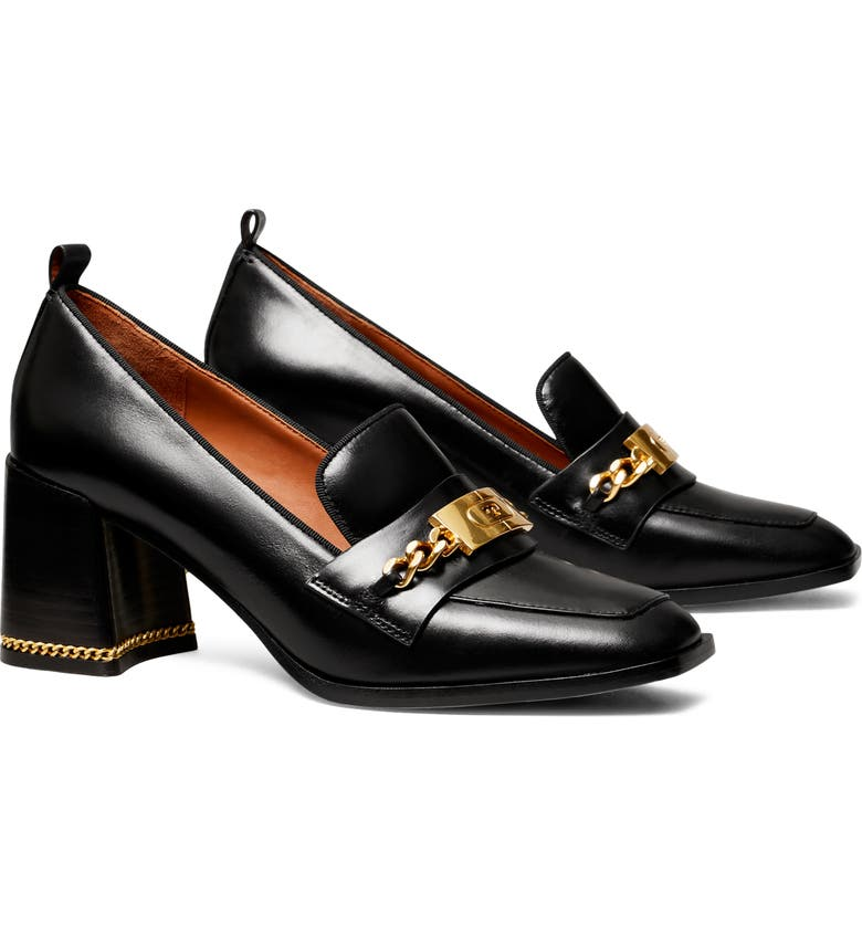 TORY BURCH Ruby Loafer Pump, Main, color, PERFECT BLACK / PERFECT BLACK
