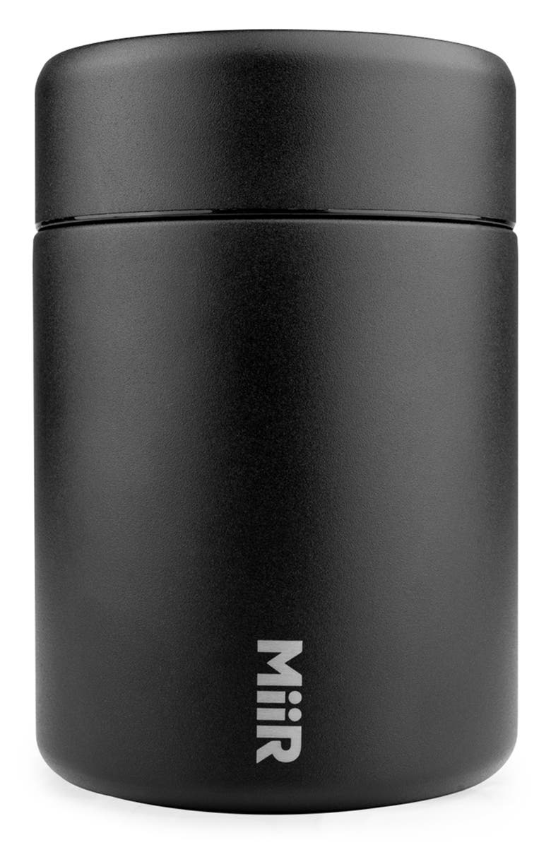 MIIR Stainless Steel Coffee Canister, Main, color, BLACK