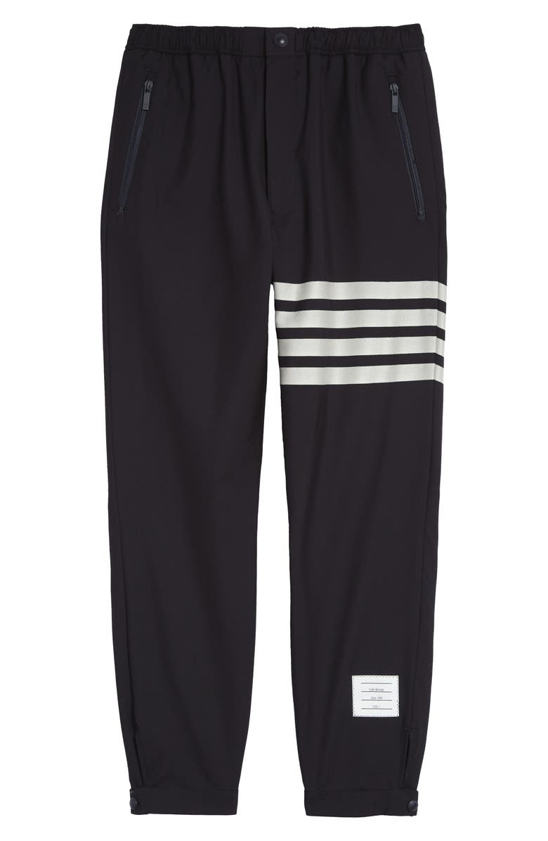 THOM BROWNE 4-Bar Wool Track Pants, Main, color, 410