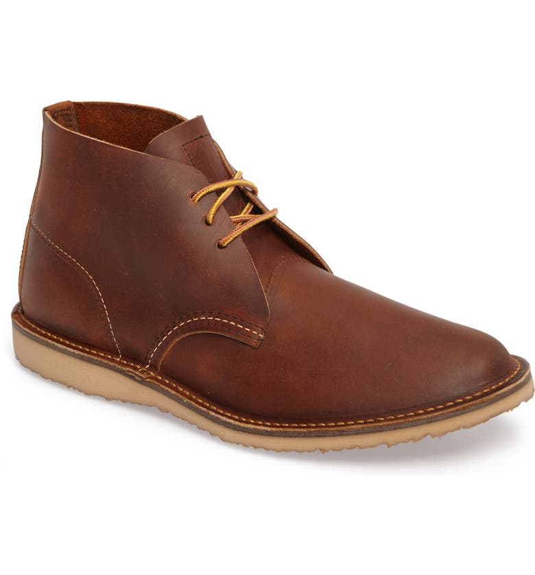 RED WING Chukka Boot, Main, color, COPPER ROUGH AND TOUGH