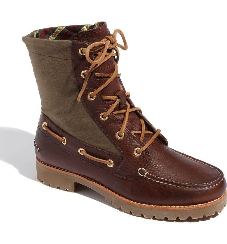 SPERRY Top-Sider<sup>®</sup> 'Avon' Boot, Main, color, TAN/ GREEN