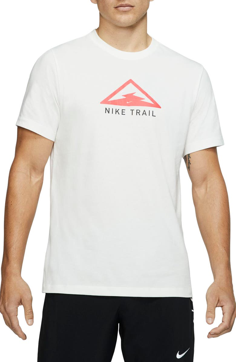 NIKE Dri-FIT Trail Running T-Shirt, Main, color, 133