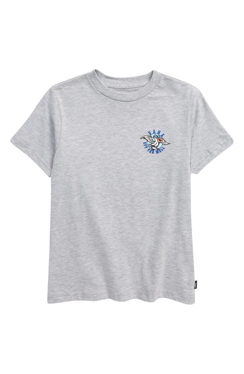 VANS Kids' Surfing in HB Graphic Tee, Main, color, ATHLETIC HEATHER