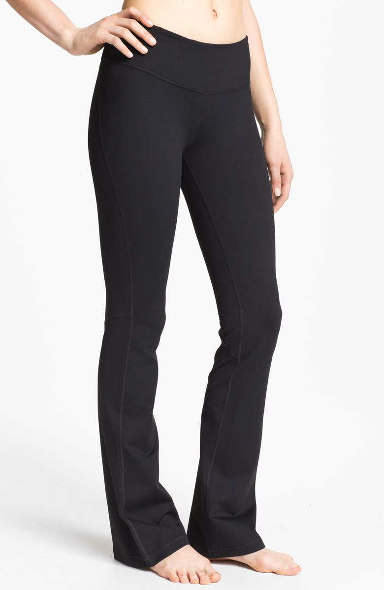 ZELLA 'Barely Flare Booty' Pants, Main, color, 001