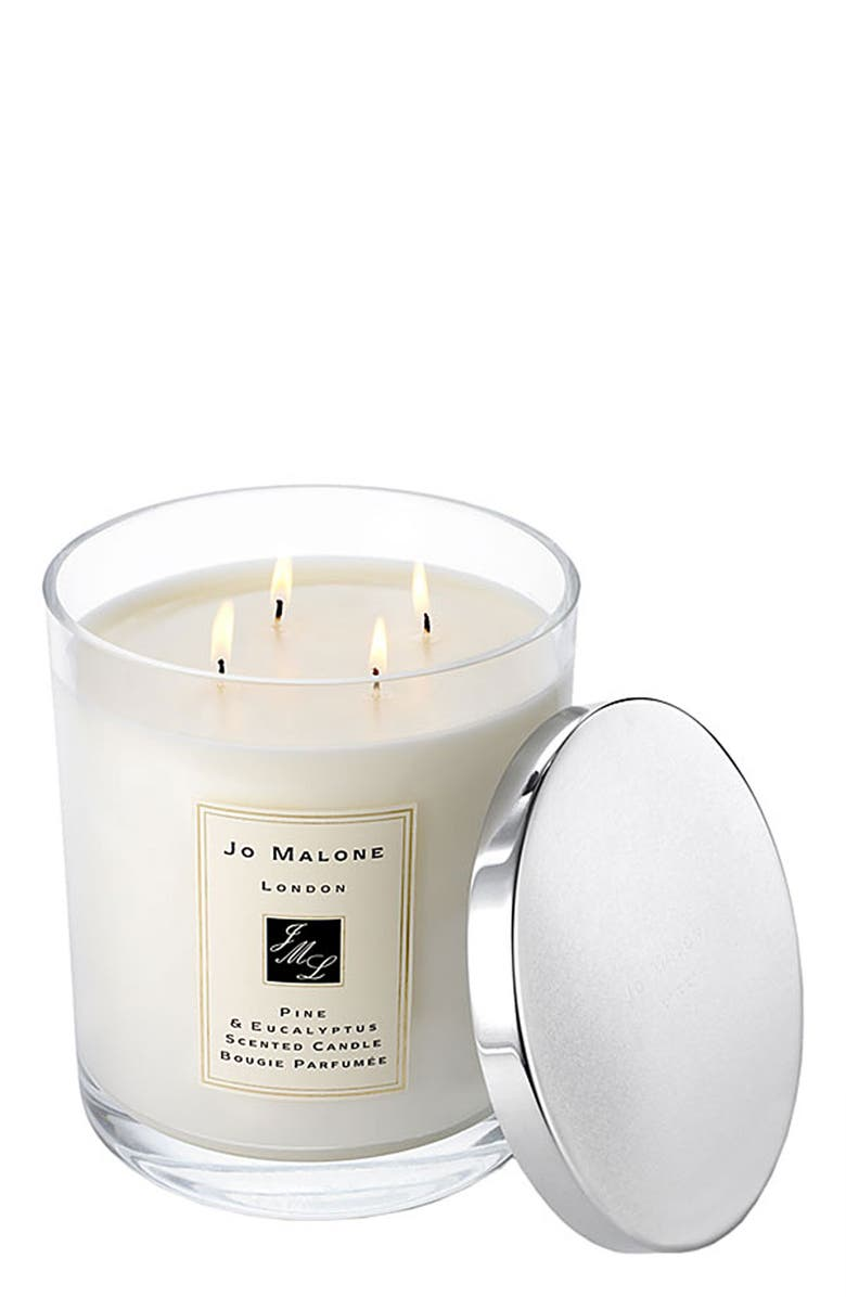 JO MALONE LONDON<SUP>™</SUP> Pine & Eucalyptus Luxury Candle, Main, color, 000