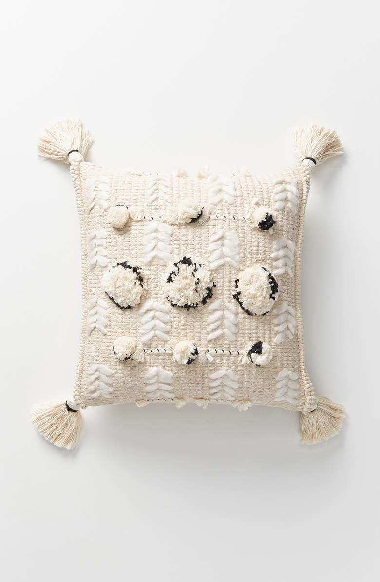 ANTHROPOLOGIE HOME Kama Accent Pillow, Main, color, 250