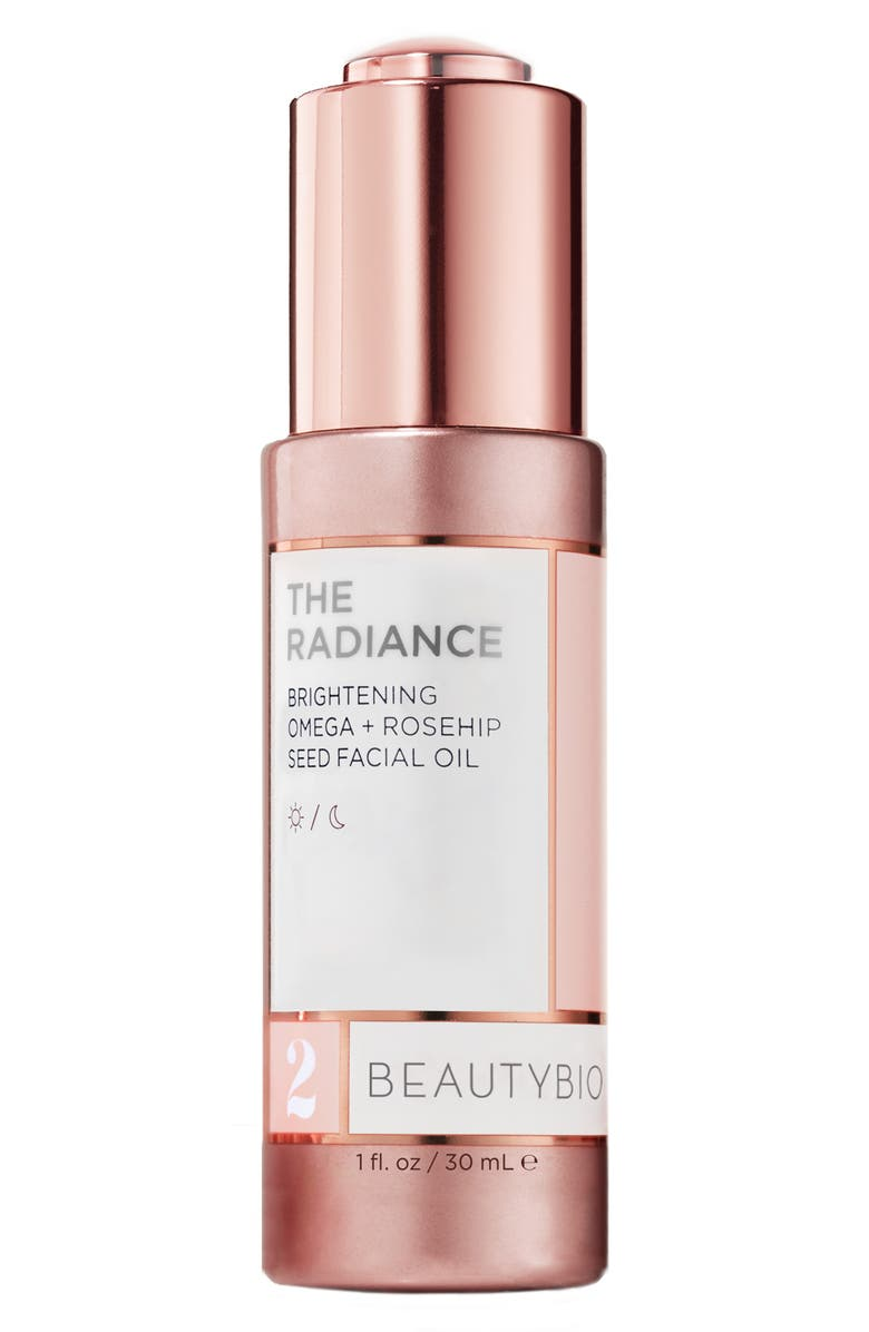 BEAUTYBIO The Radiance Brightening Omega + Rosehip Seed Facial Oil, Main, color, NO COLOR