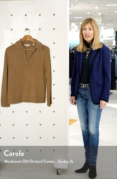 Wool & Cashmere Polo Sweater, sales video thumbnail