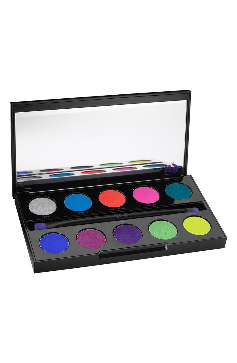 URBAN DECAY 'Electric' Pressed Pigment Palette, Main, color, 650