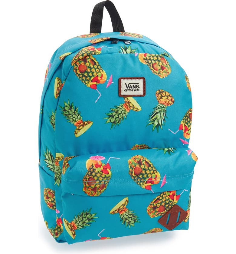 VANS 'Old Skool II' Print Backpack, Main, color, 400