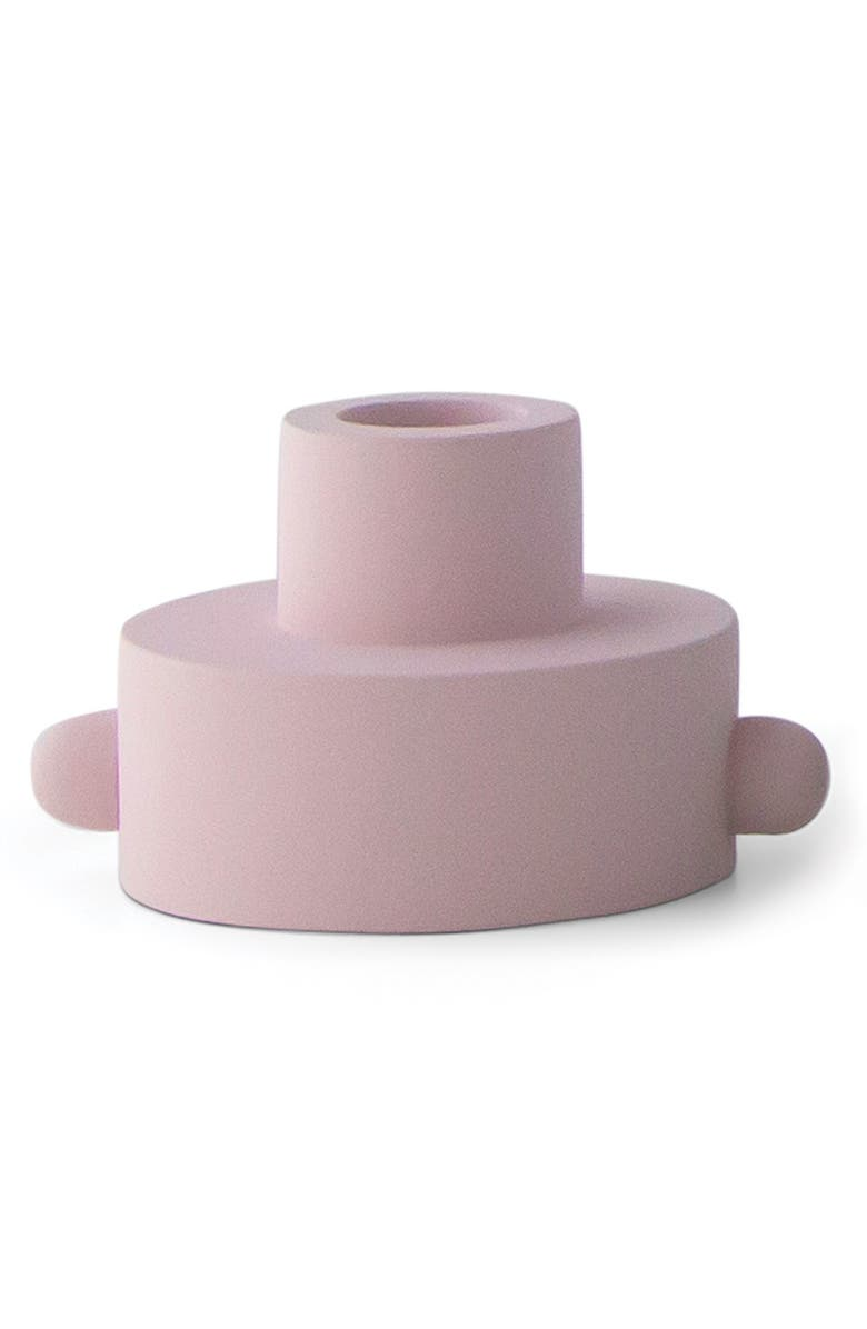 PADDYWAX Taper Candle & Tea Light Holder, Main, color, BLUSH