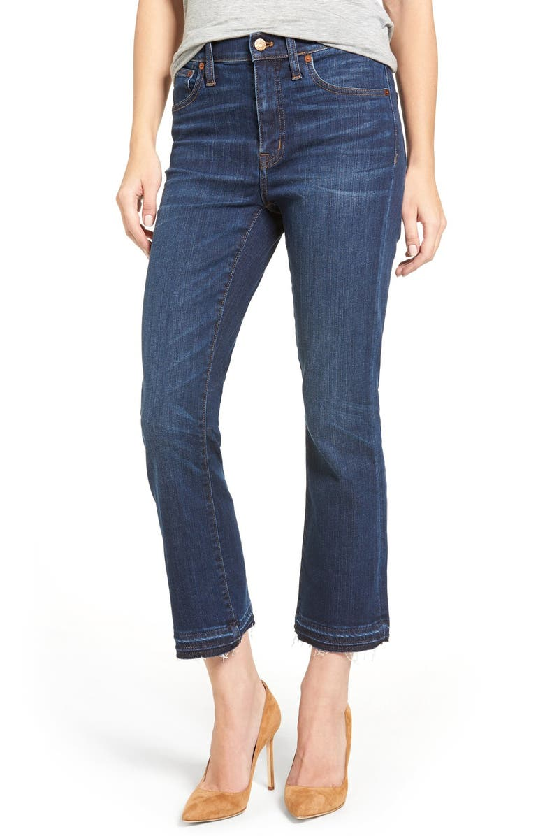 MADEWELL Cali Demi Boot Jeans, Main, color, MITCHELL