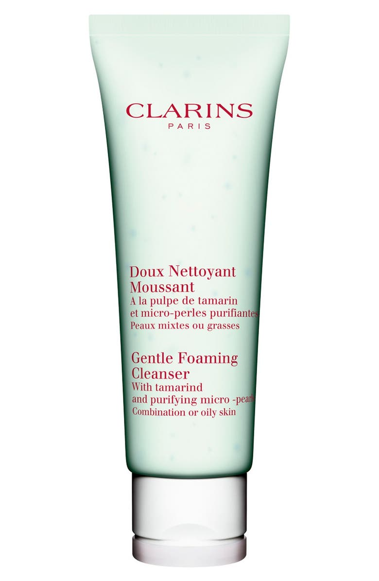 CLARINS Gentle Foaming Cleanser with Tamarind for Combination/Oily Skin Types, Main, color, 000