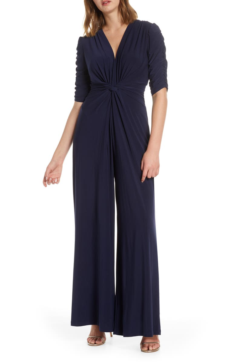VINCE CAMUTO Gathered Sleeve Jumpsuit, Main, color, 410