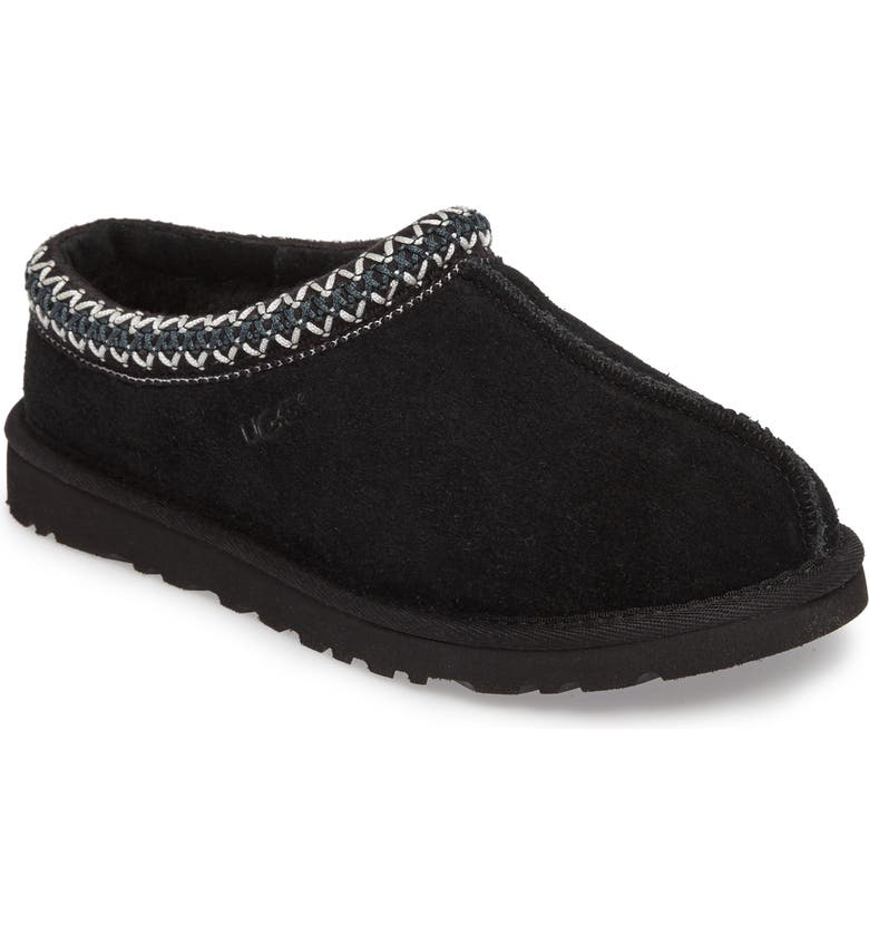 UGG<SUP>®</SUP> Tasman Slipper, Main, color, BLACK
