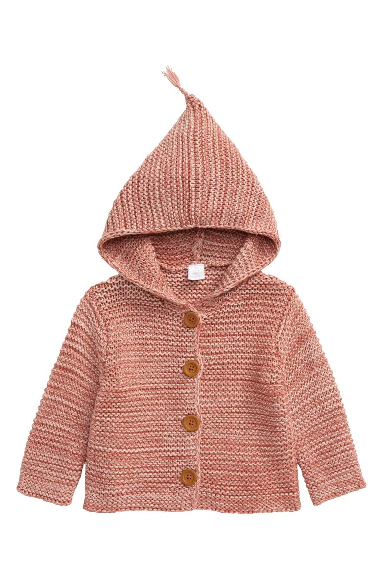 NORDSTROM Organic Cotton Hooded Cardigan, Main, color, 660