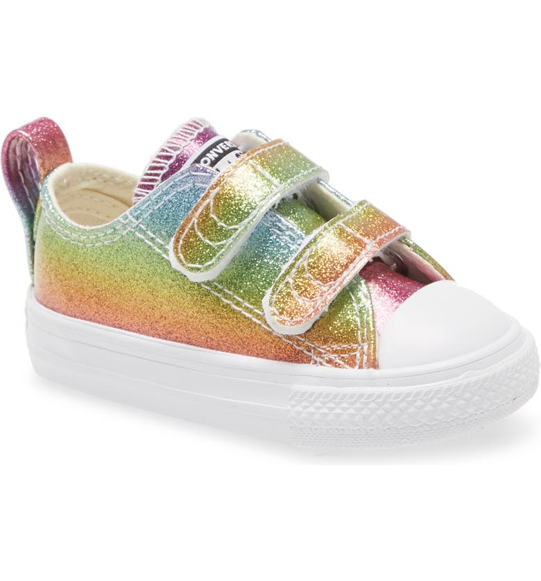 CONVERSE Chuck Taylor<sup>®</sup> All Star<sup>®</sup> 2V Glitter Sneaker, Main, color, 650