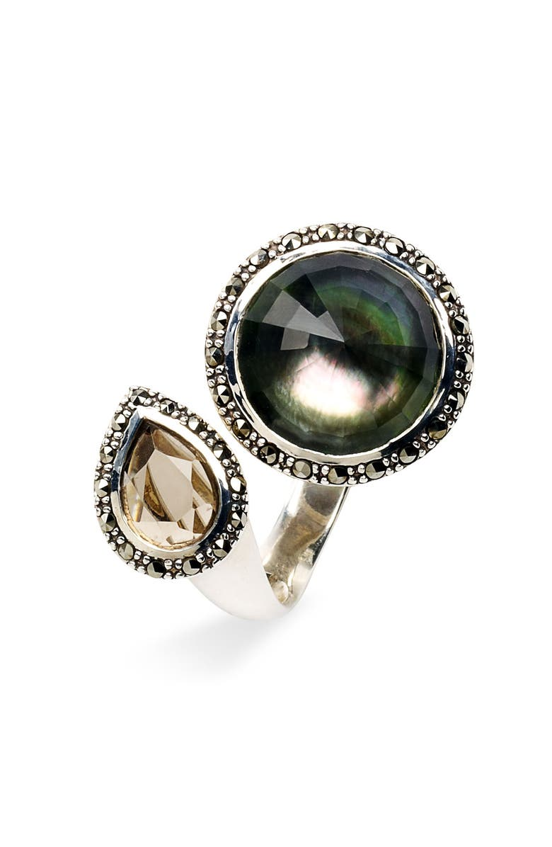 JUDITH JACK 'Synergy' Open Ring, Main, color, 040