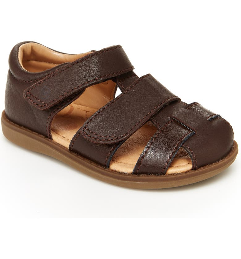 STRIDE RITE Emerson Sandal, Main, color, BROWN