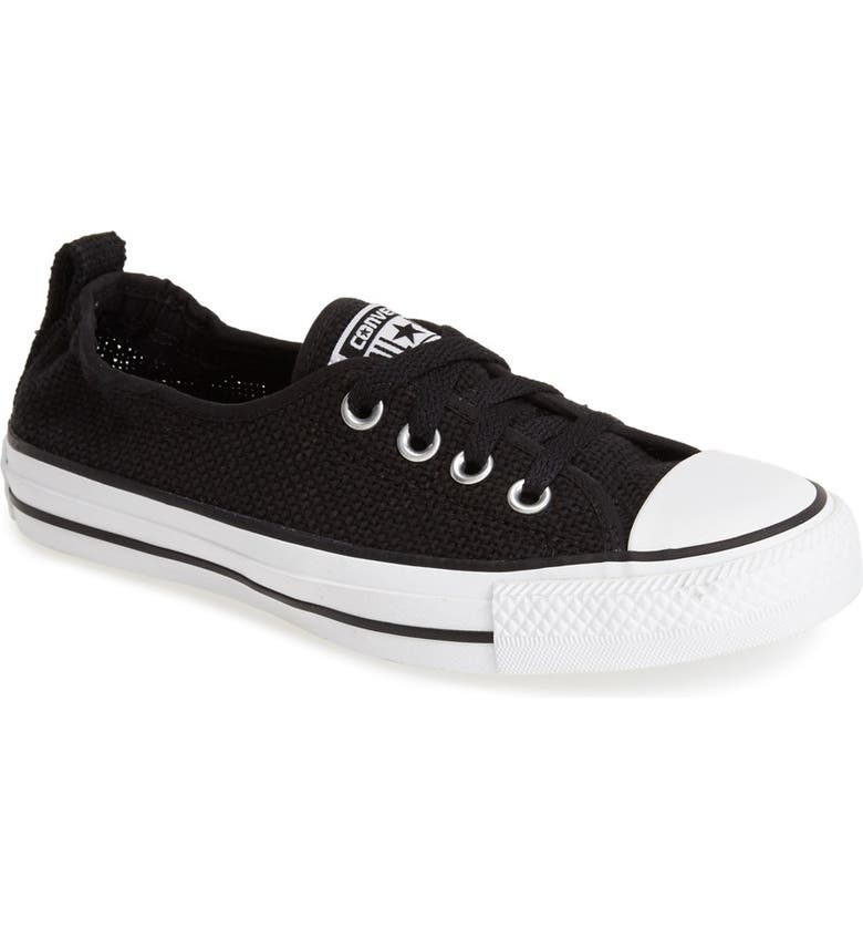 CONVERSE Chuck Taylor<sup>®</sup> All Star<sup>®</sup> 'Open Weave Shoreline' Low Top Sneaker, Main, color, 001