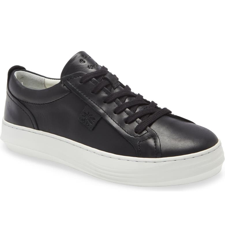 FLY LONDON Cive Sneaker, Main, color, BLACK RUG LEATHER
