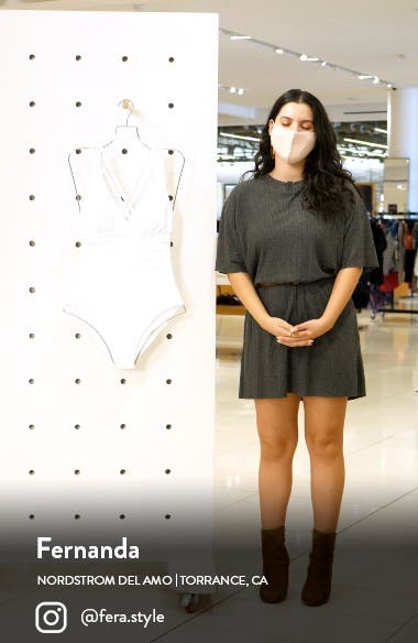 Cross Back One-Piece Swimsuit, sales video thumbnail