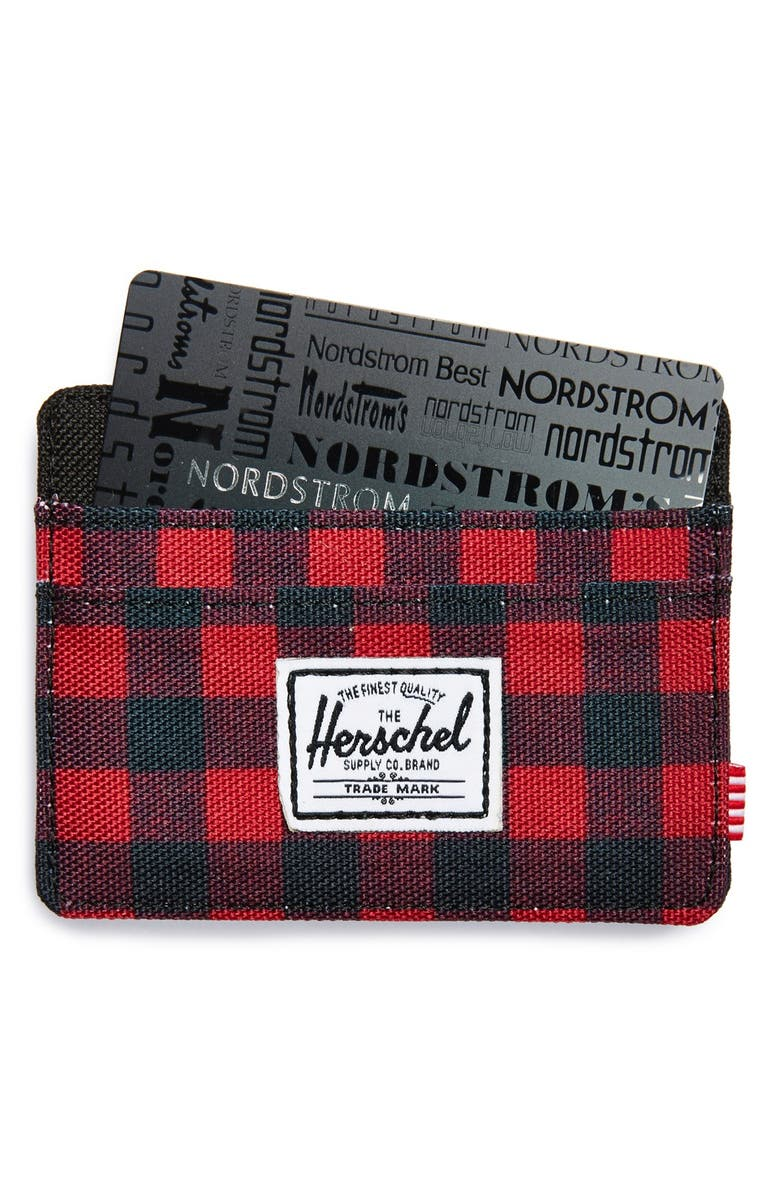 HERSCHEL SUPPLY CO. 'Charlie' Card Case, Main, color, 979