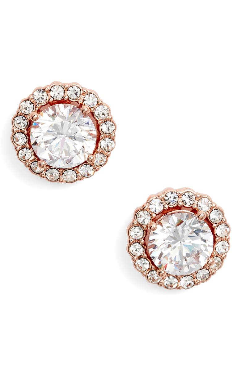 GIVENCHY Halo Button Stud Earrings, Main, color, 650