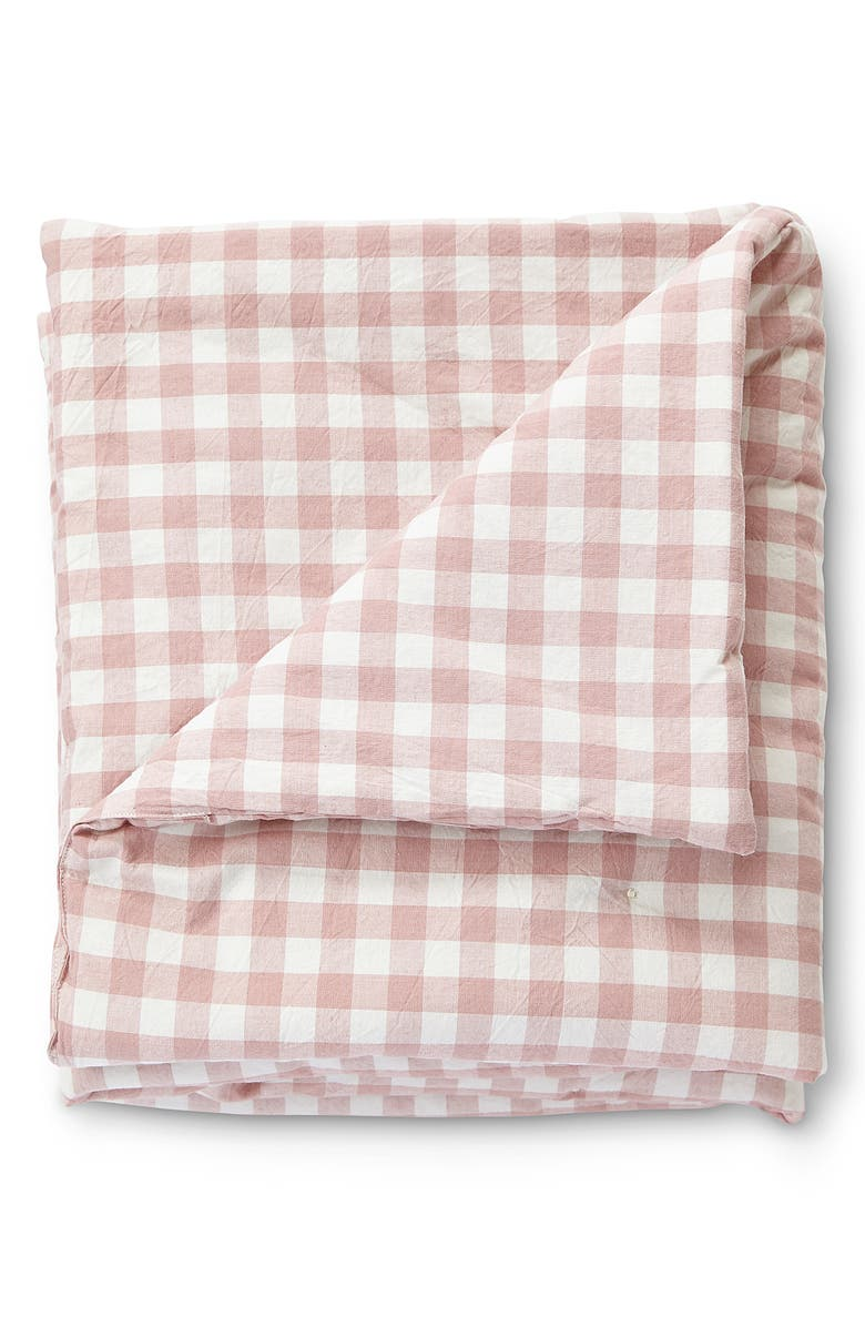 PEHR Large CheckMate Organic Cotton Toddler Blanket, Main, color, 660