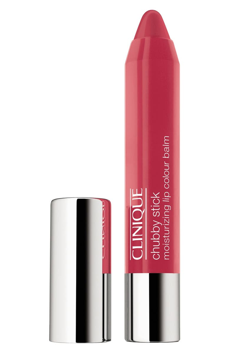 CLINIQUE Chubby Stick Moisturizing Lip Color Balm, Main, color, MIGHTY MIMOSA