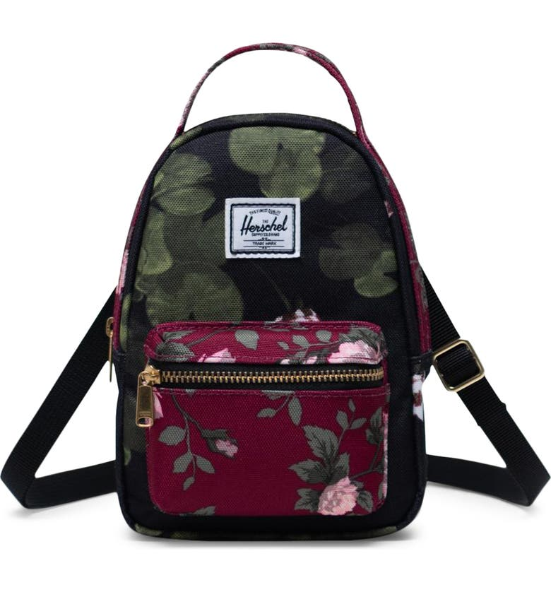 HERSCHEL SUPPLY CO. Nova Crossbody Backpack, Main, color, FINE CHINA FLORAL