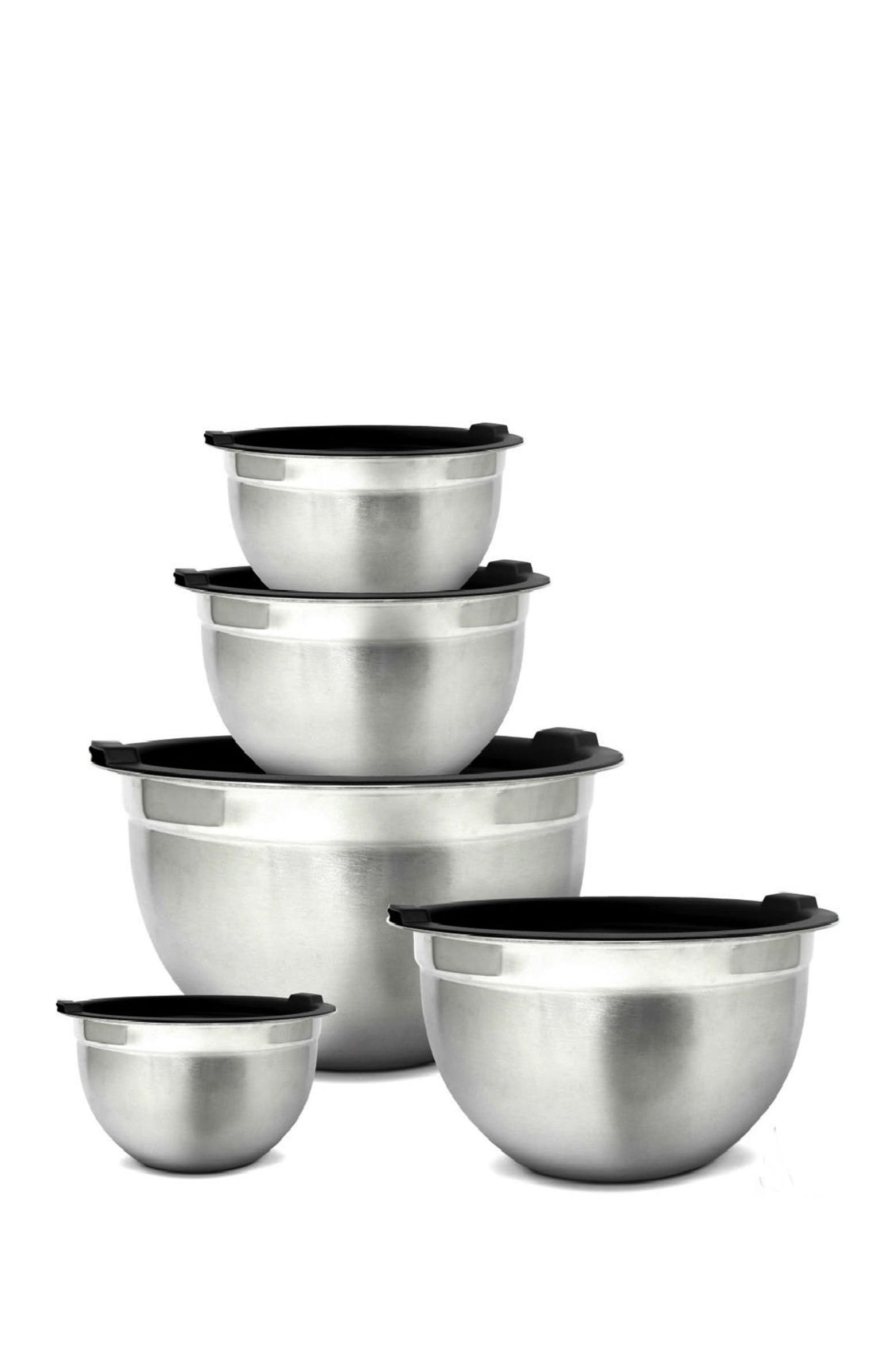 Stainless Steel Mixing Bowls and Airtight Lids – Set of 5! .97 (REG: .00) at Nordstrom Rack!