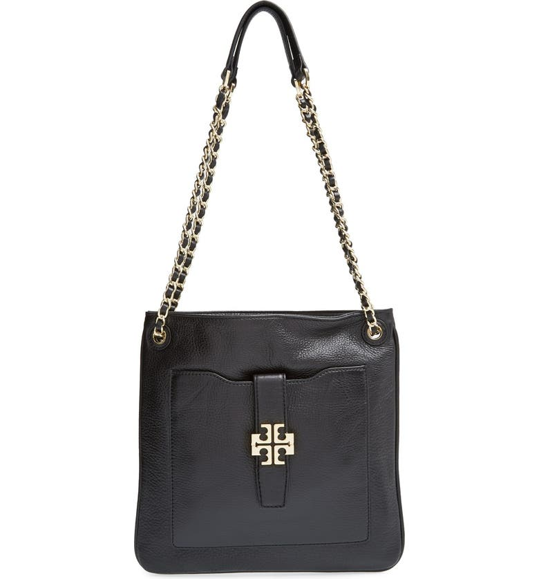 TORY BURCH 'Plaque' Swingpack, Main, color, 001