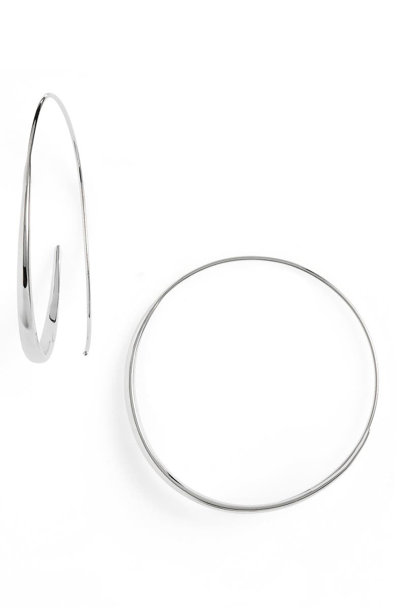 TOM WOOD Extra Large Ear Loop Earrings, Main, color, 040