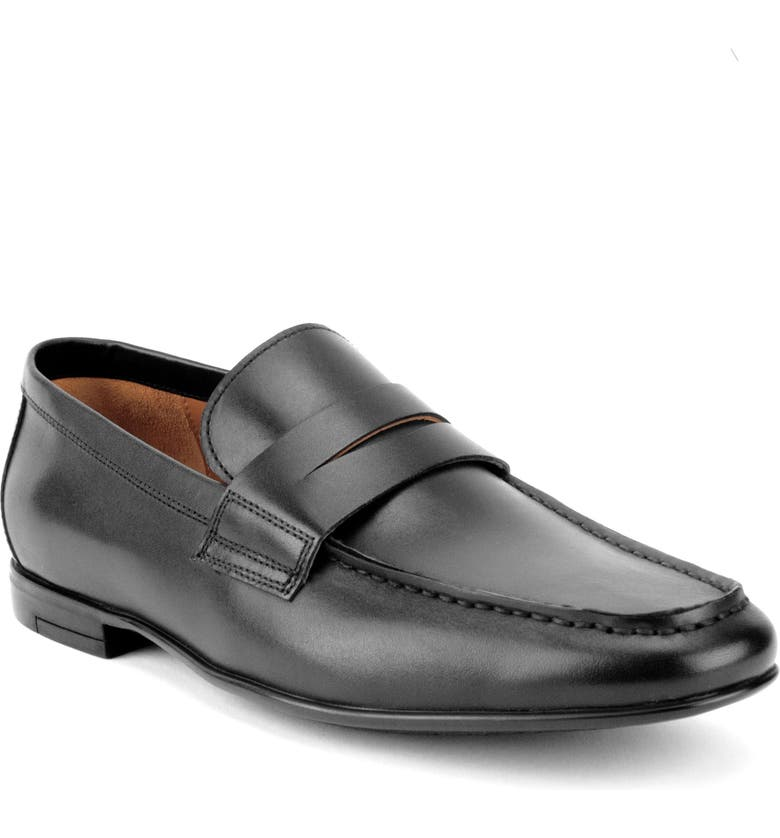 GORDON RUSH Connery Penny Loafer, Main, color, 001