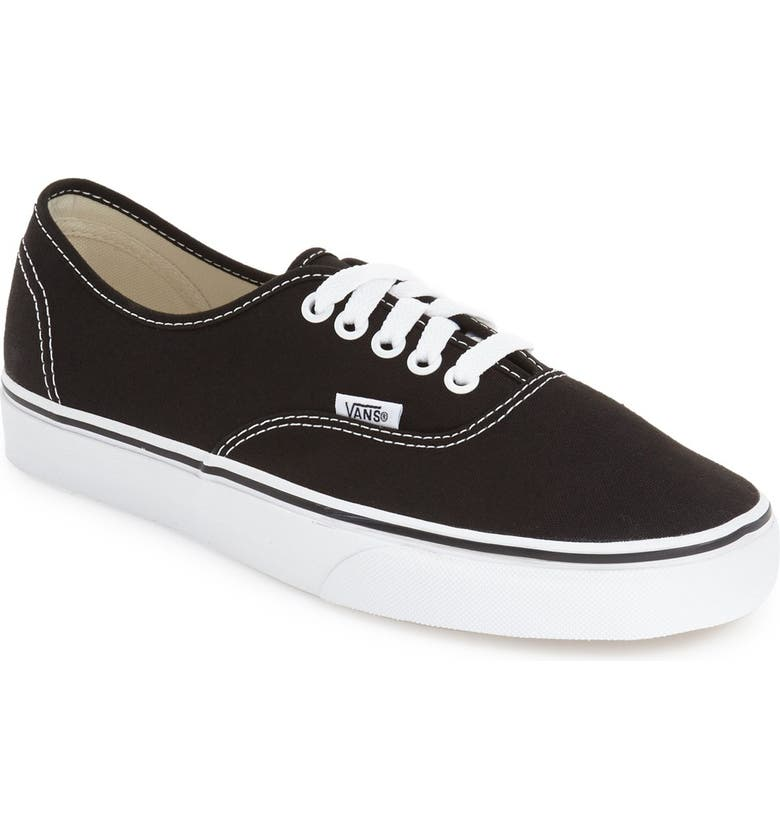 VANS 'Authentic' Sneaker, Main, color, 001