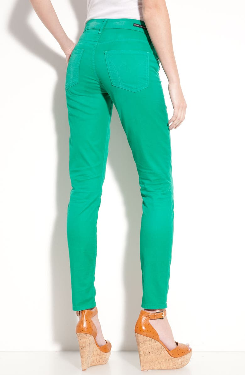 CITIZENS OF HUMANITY Overdyed Skinny Jeans, Main, color, 300