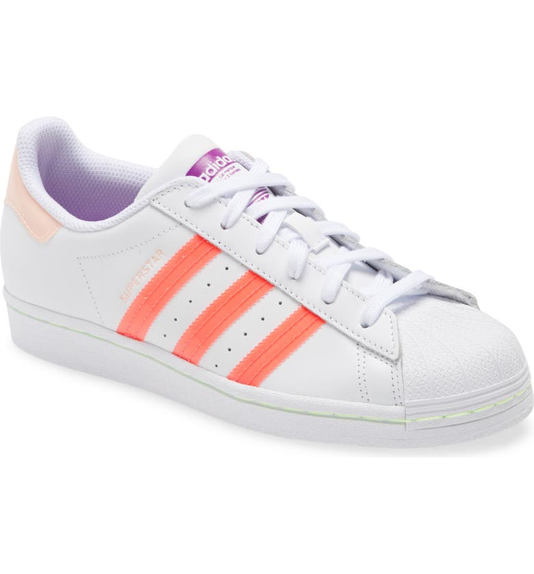 ADIDAS Superstar Sneaker, Main, color, 100