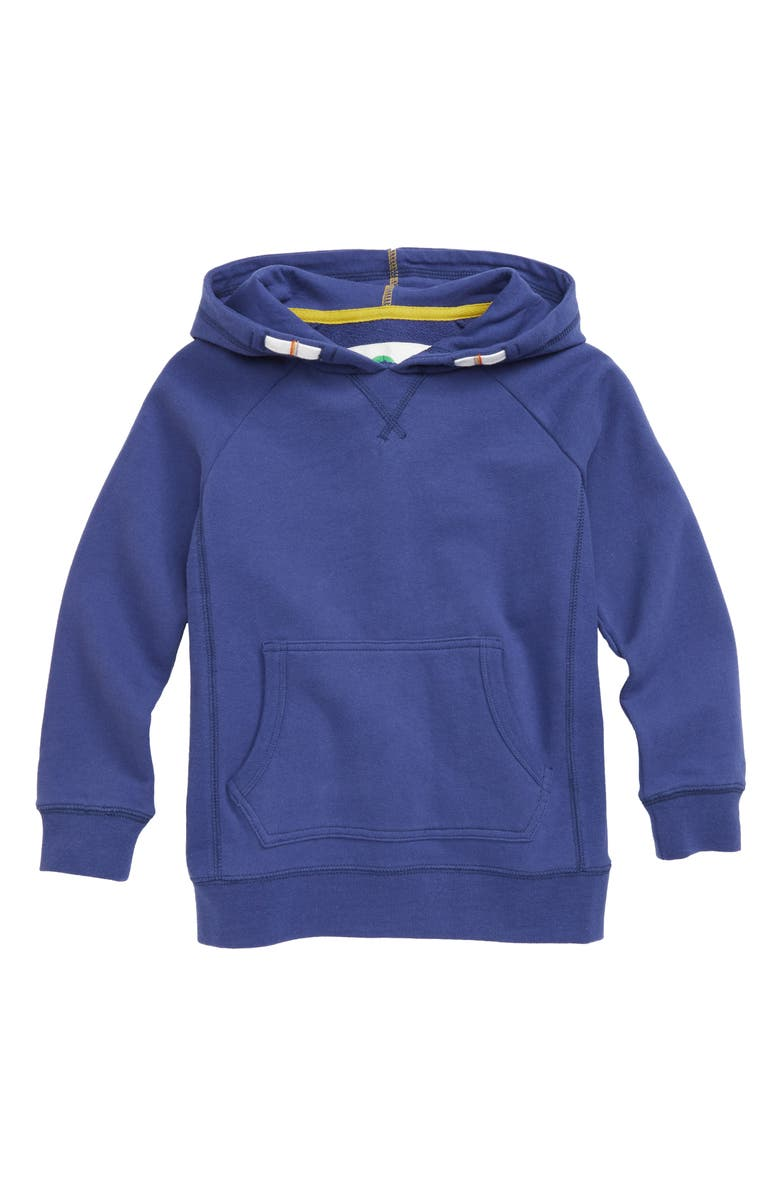 MINI BODEN Everyday Hoodie, Main, color, 404