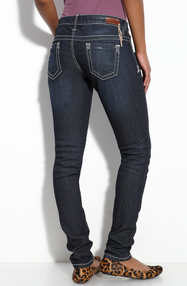STANDARDS & PRACTICES Skinny Stretch Jeans, Main, color, 400