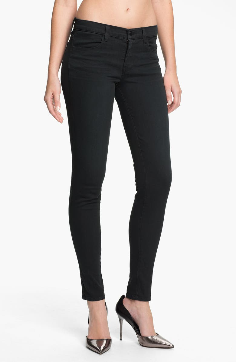J BRAND Super Skinny Stretch Jeans, Main, color, 358