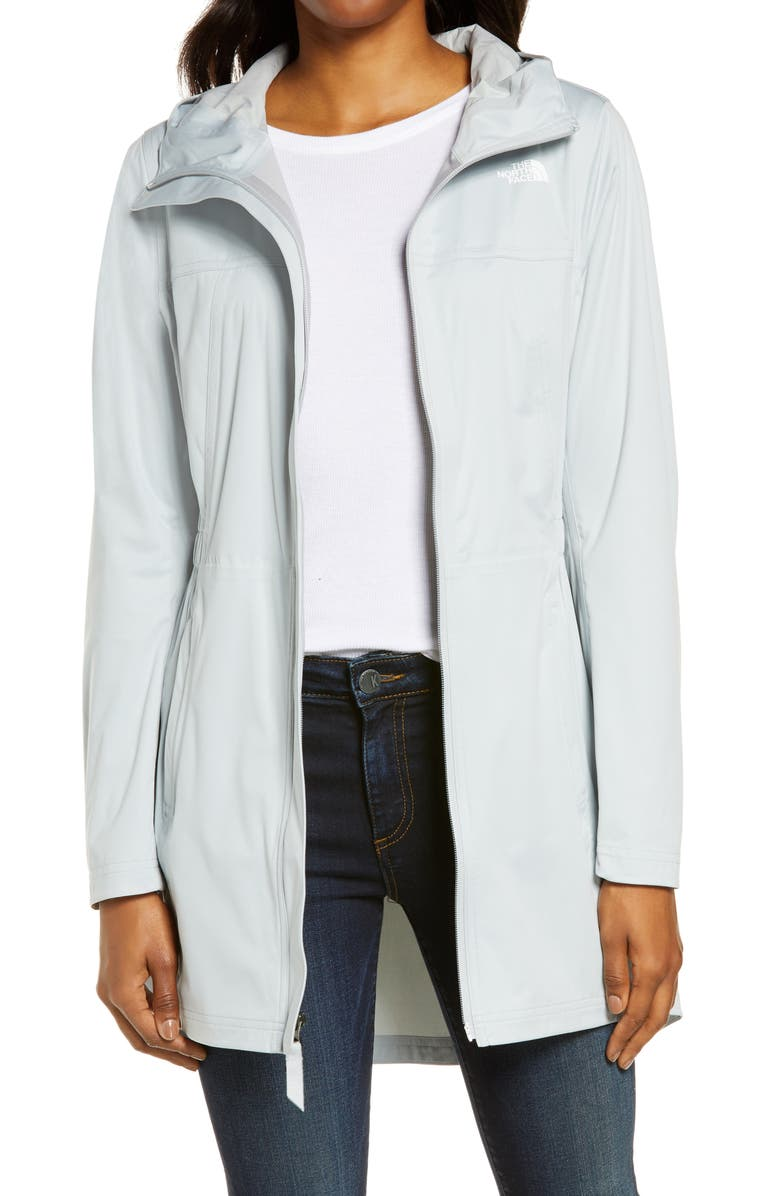 THE NORTH FACE Allproof Stretch Parka, Main, color, HIGH RISE GREY